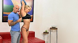 Fucked right in front of her husband