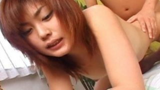 Rui Misato gets her pussy pounded in a hotel room