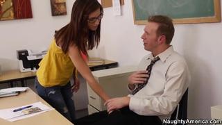 Extra effort in pleasing the teacher