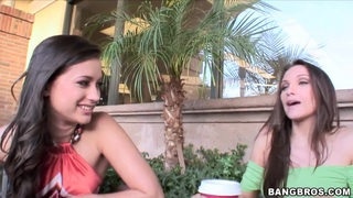 Hot pornstar lesbians talking about their sexy lifestyle