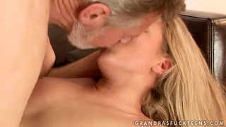 Bianca Arden banged by old fart for money