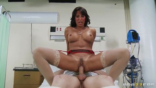 Michael Vegas asks Dr. Lezley Zen to see what happens with his dick