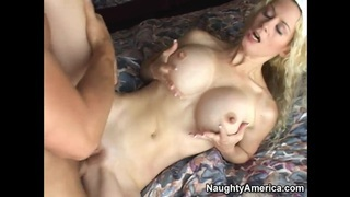 Victoria Givens fucks young dude Matt Bixel