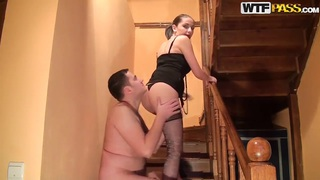Hot chubby guy fucking hard teen petite Anka!