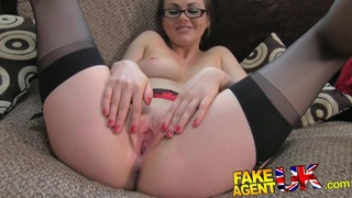 FakeAgentUK Creampie for hot european girl