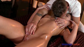 Nuru massage turns to sensual fucking