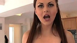 Huge boobs hottie Tina Kay cum facialed