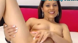 Smoking Hot Brunette Webcam Girl 2