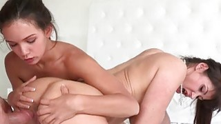Eva Karera shared hard cock with teenie