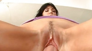 Beauty loves getting her bald cunt devoured
