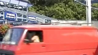 pickup stepmom for backseat anal sex