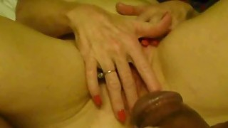 Housewife Masturbates for her Lover