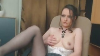 Horny Camgirl Babe Playing Her Cunt