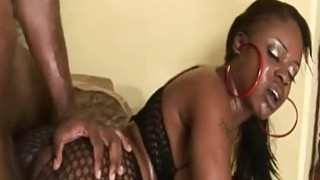 Nyeema Knoxxx  Horny Ebony Swallowing Black Cum