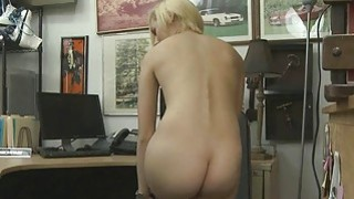 Cutie hot chick will do anything for some cash