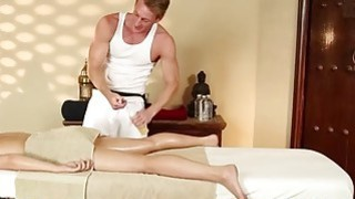Very tricky spa of sweet masseur