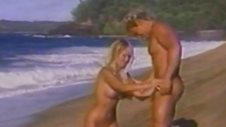 Kascha  Busty BombShell Having Sex On The Beach