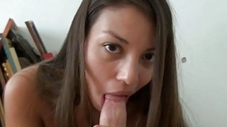Agreeable playgirl lets hunk energizes her beaver