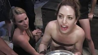 Darling acquires rough pussy castigation in public