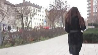 Hot Russian Milf picked up in public