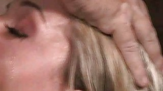 Facefucked Bound Teen Chokes and Sputters!
