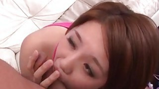 Yurika Momo enjoys sex after wild blowjob