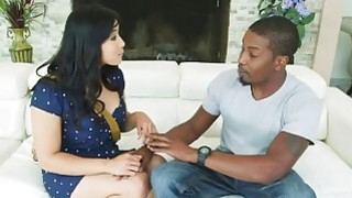 Cute Mia Li goes wild with big hard black dick
