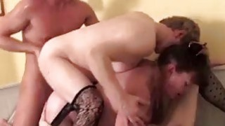 Young student banging three slutty matures