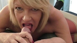 British hot housewife fucking and sucking