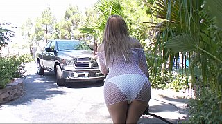 Wet car wash