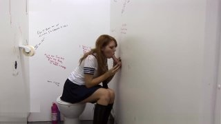 Cfnm Amateur At Gloryhole
