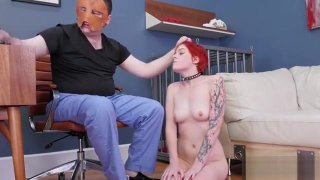 Sexy Girl Was Taken In Anal Assylum For Awkward Treatment