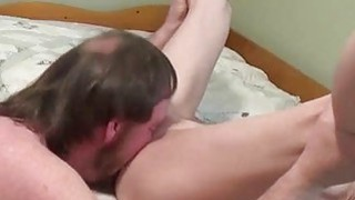 Horny mature pussy licking and fuck
