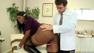 Anal Coverage by James Deen and sexy Nyomi Banxx