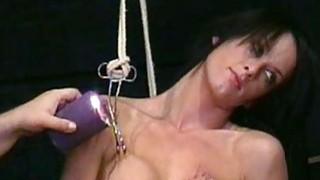 Busty Danii Blacks nipple torture and big tit clam