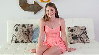 Beautiful Alice happy with first time fucking anally
