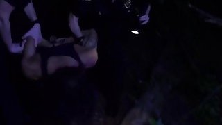 Nasty female cops in uniform loves getting fucked hard by a black cock