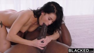 BLACKED Megan Rain Meets Mandingo