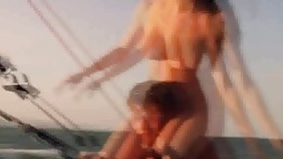 Two couple swingers foursome by the pool and enjoying