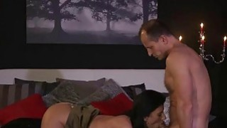 Brunette mature lady fucking in hotel room