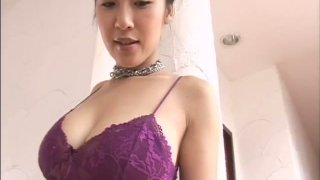 Torrid Asian brunette with big boobs Megumi Kagurazaka is worth attention