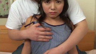 Tempting Kozue Matsushima shows her panties