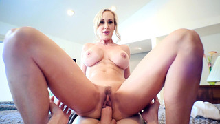 Brandi Love rides that thick member from his POV