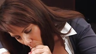 Hot huge boobies milf pawns her pussy for her husbands bail