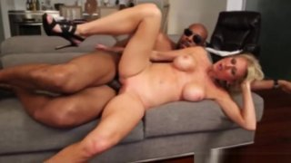 Blonde Mom Fucks BBC Neighbor