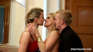 Kinky slut Barra Brass gonna join horn-mad couple for threesome