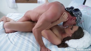 Young and beautiful Teal Conrad is being fucked by a very big dick