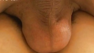 Japanese milf licked and fucked