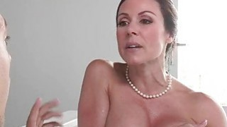 Kendra Lust and Giselle Mari sharing bf